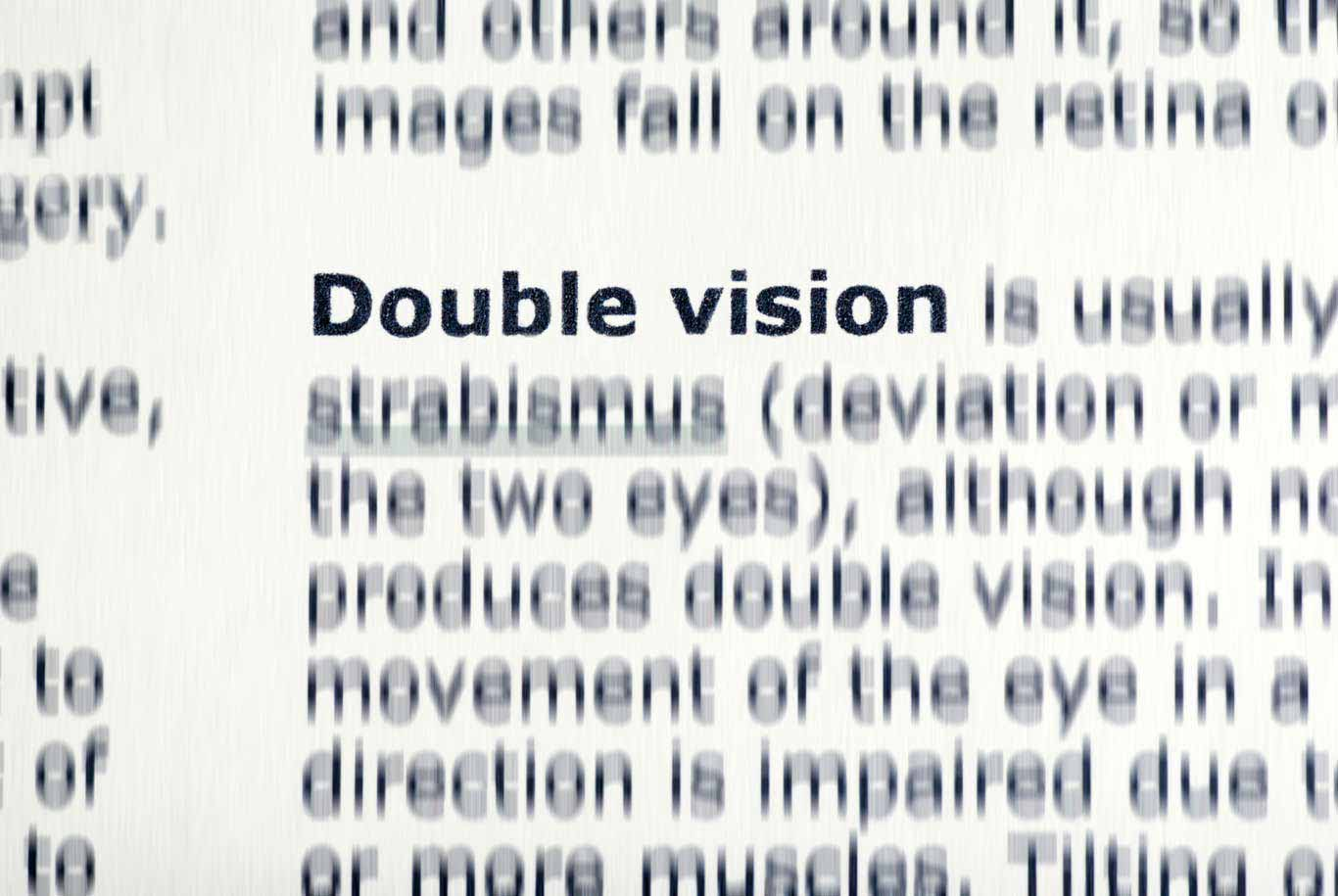 Double Vision (Diplopia) Treatment with Vision Therapy